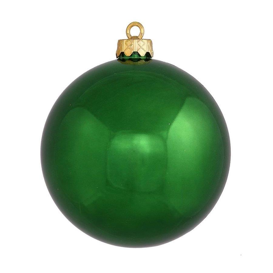 Vickerman Green Ball Ornament At Lowes Com