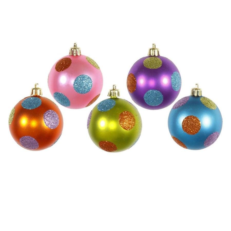 Vickerman 15-Pack Multi Ball Ornament Set
