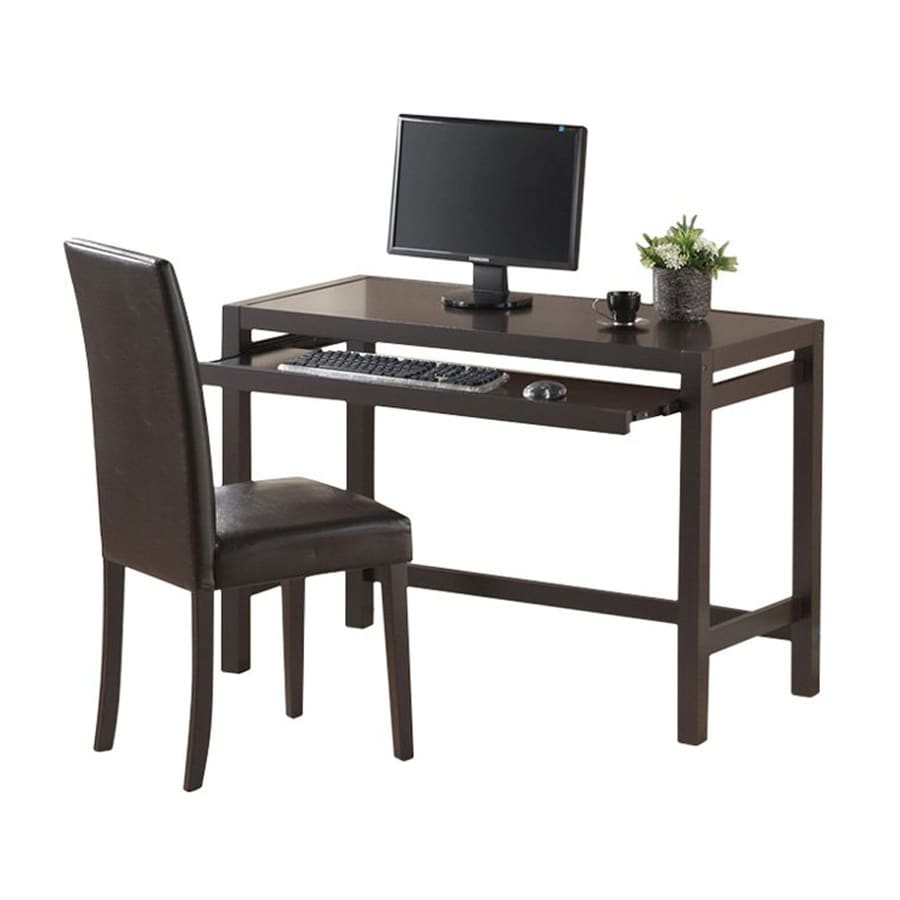 Asian Office Furniture Intended Baxton Studio Astoria 2piece Dark Espresso Asian Hardwood Transitional Home Office Furniture Set Shop