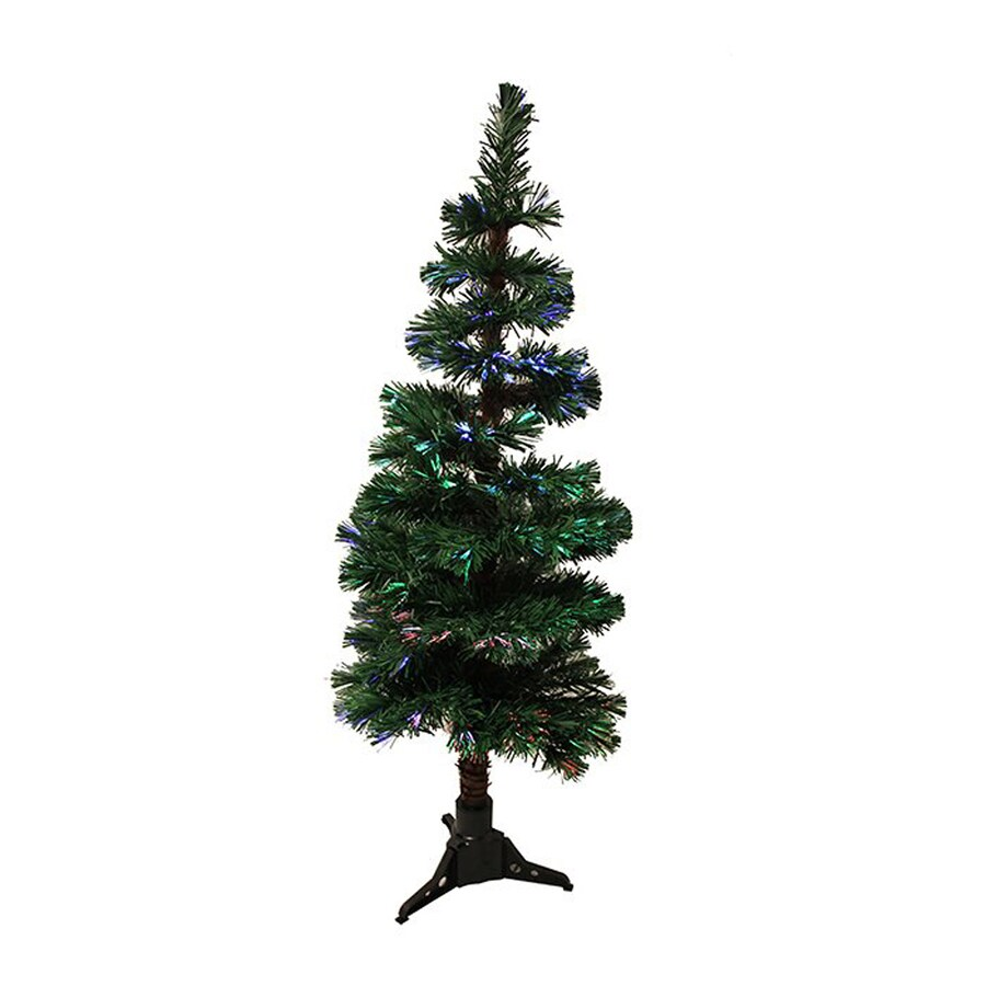 Northlight 4 Ft Pre Lit Spiral Topiary Slim Artificial Christmas Tree With Color  Changing