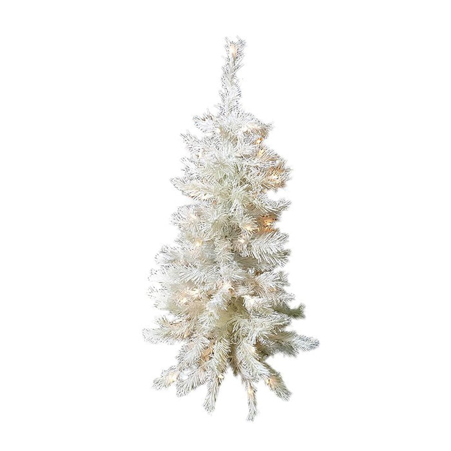 Northlight 3 Ft Pre Lit Slim Artificial Christmas Tree With 100