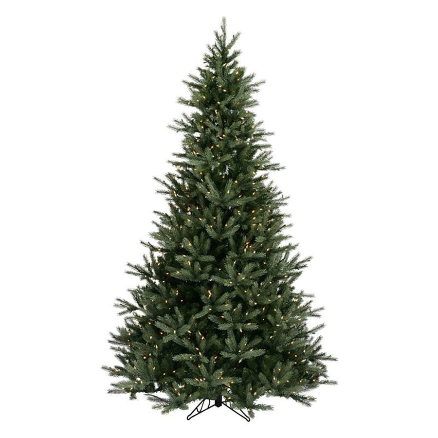 Northlight 7-ft 6-in Pre-lit Frasier Fir Artificial Christmas Tree with 1,200 Clear White Incandescent Lights