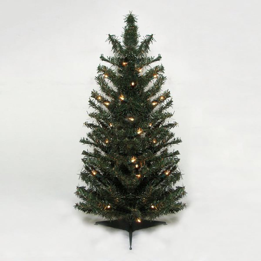 2 Ft White Christmas Tree: Northlight 2.5-ft Pre-lit Artificial Christmas Tree With