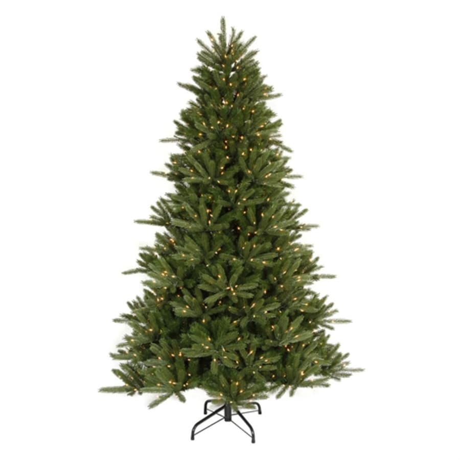 Shop northlight 6 ft 6 in pre lit vermont fir artificial for Buro 600 6ft ups