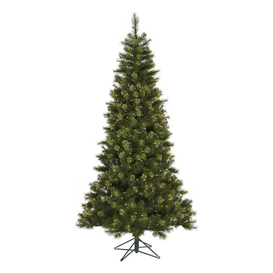 Northlight 7-ft 6-in Pre-lit Jack Pine Artificial Christmas Tree with 450 Warm White LED Lights