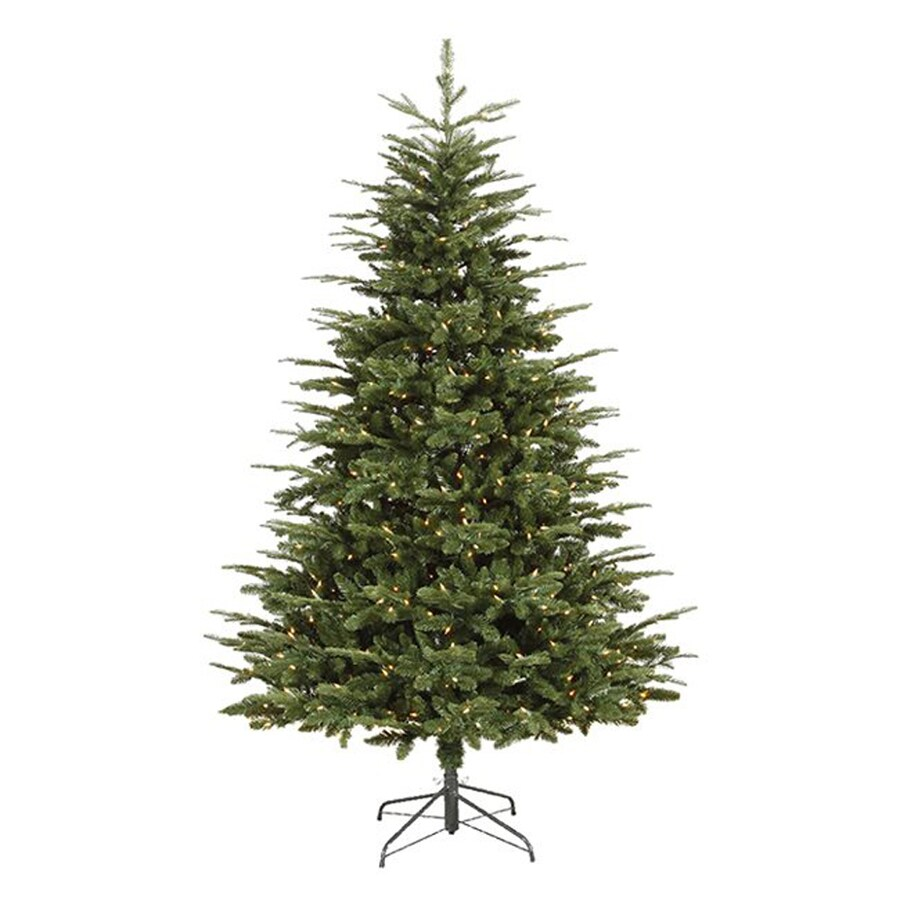 Northlight 7-ft 2,417-Count Pre-Lit Artificial Christmas Tree with 650 Clear White Incandescent Lights