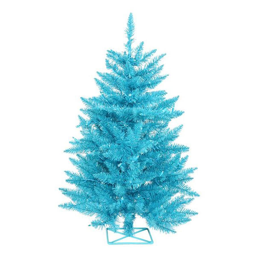 Northlight 3-ft 232-Count Pre-Lit Whimsical Artificial Christmas Tree with 70 Blue Incandescent Lights