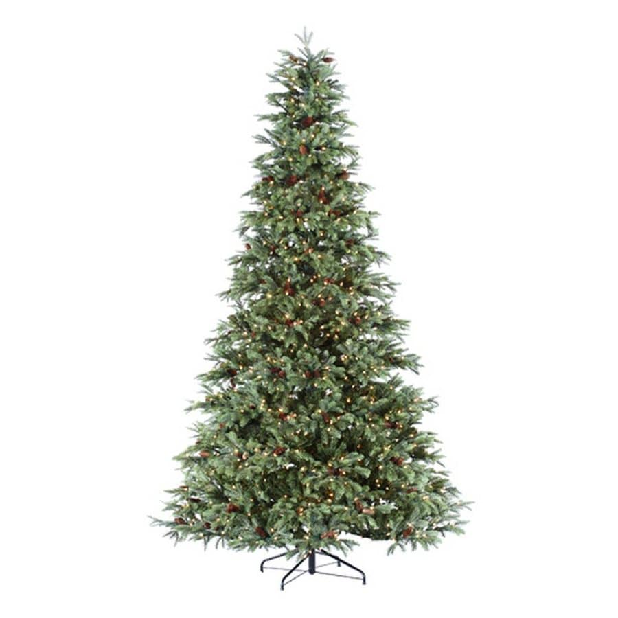 Northlight 7-ft Pre-lit Artificial Christmas Tree with 550 Clear White Incandescent Lights