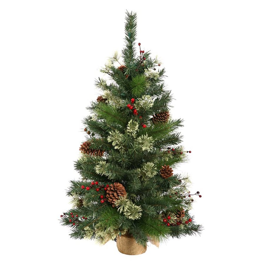 Northlight 2-ft Pre-lit Artificial Christmas Tree at Lowes.com
