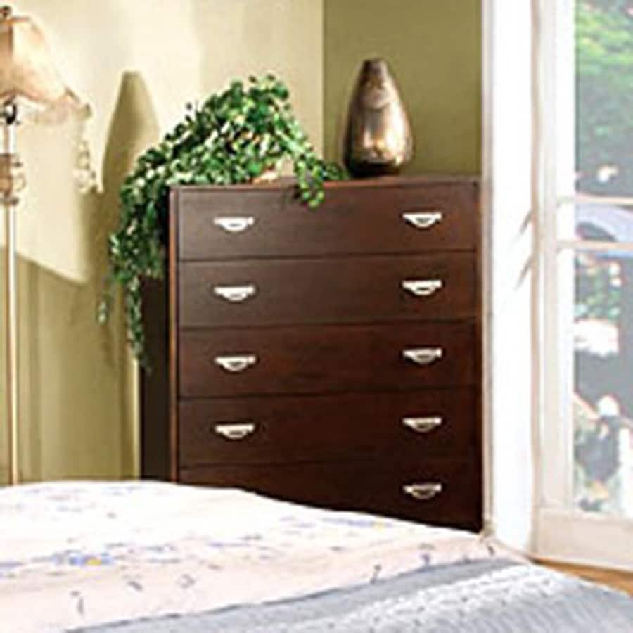 Furniture of America Crystal Lake Brown Cherry 5-Drawer Chest