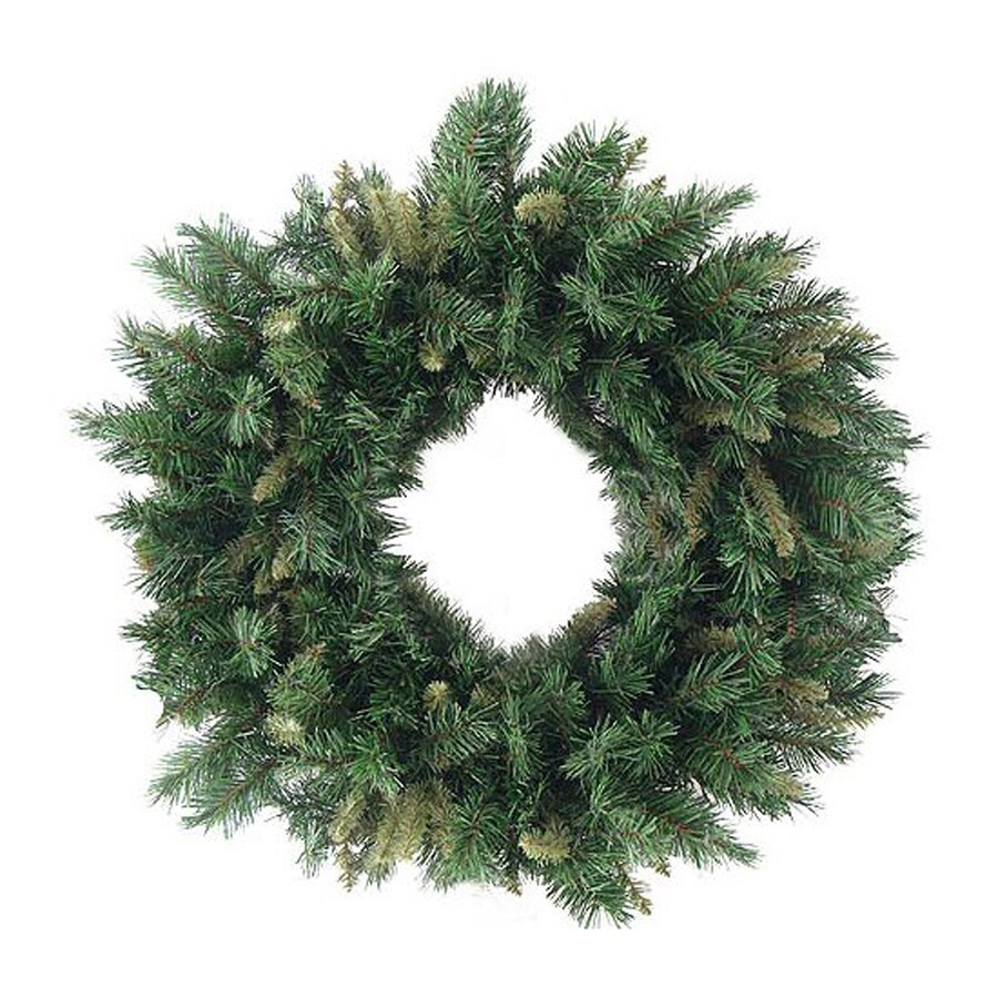 Northlight 36-in Indoor/Outdoor Mixed Pine Artificial Christmas Wreath
