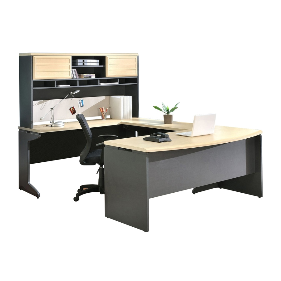 office furniture sets shop ameriwood home pursuit 4 gray 23936