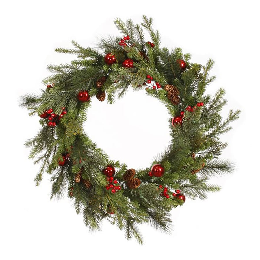 Northlight 36-in Indoor Mixed Pine Artificial Christmas Wreath