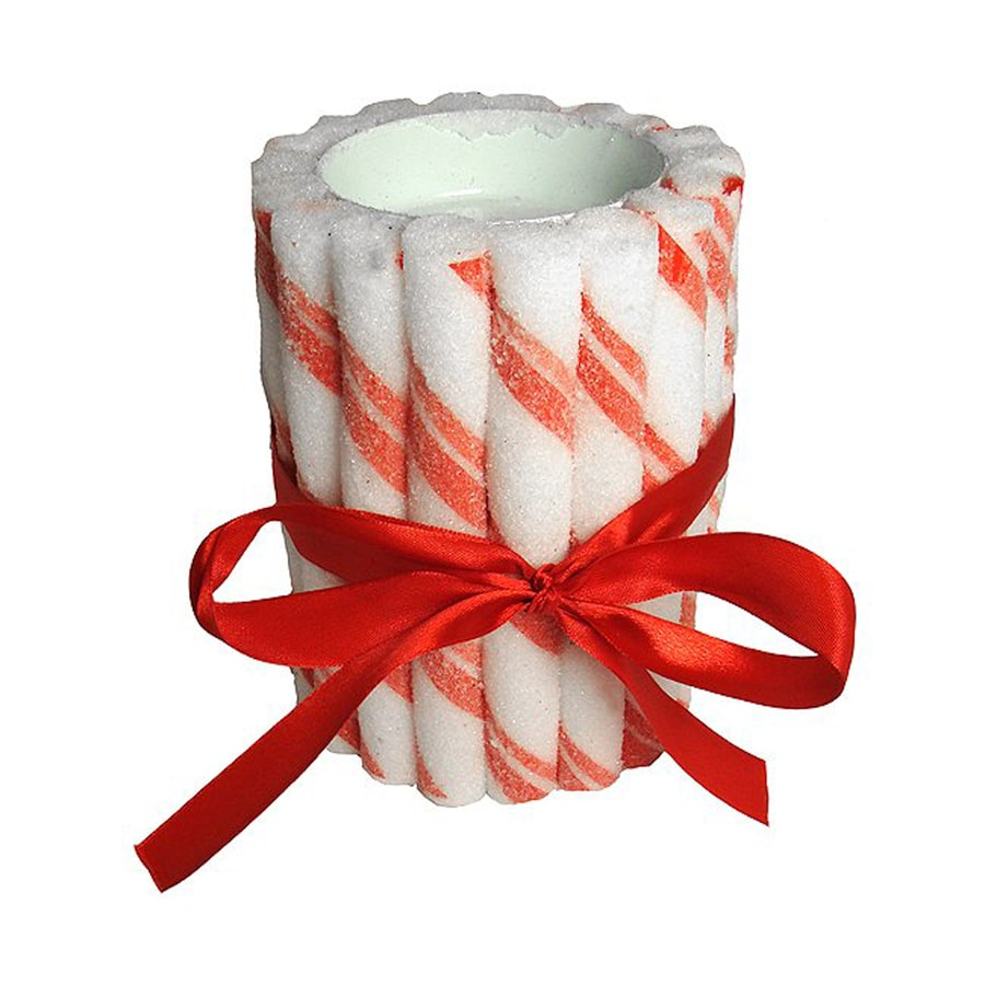 Northlight Candy Cane Candle Holder