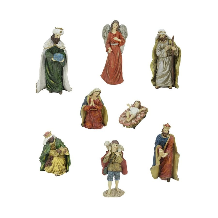 Northlight 8-Piece Nativity Figurine Set