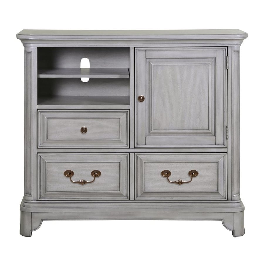 Magnussen Home Windsor Lane Weathered Grey 3-Drawer Accent Chest