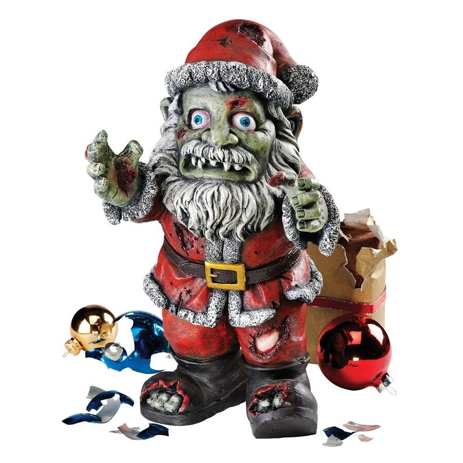 Design Toscano Zombie Claus Holiday Figurine