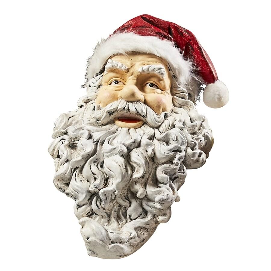 Design Toscano Ho-Ho-Hold It Santa Mantle Stocking Holder Figurine