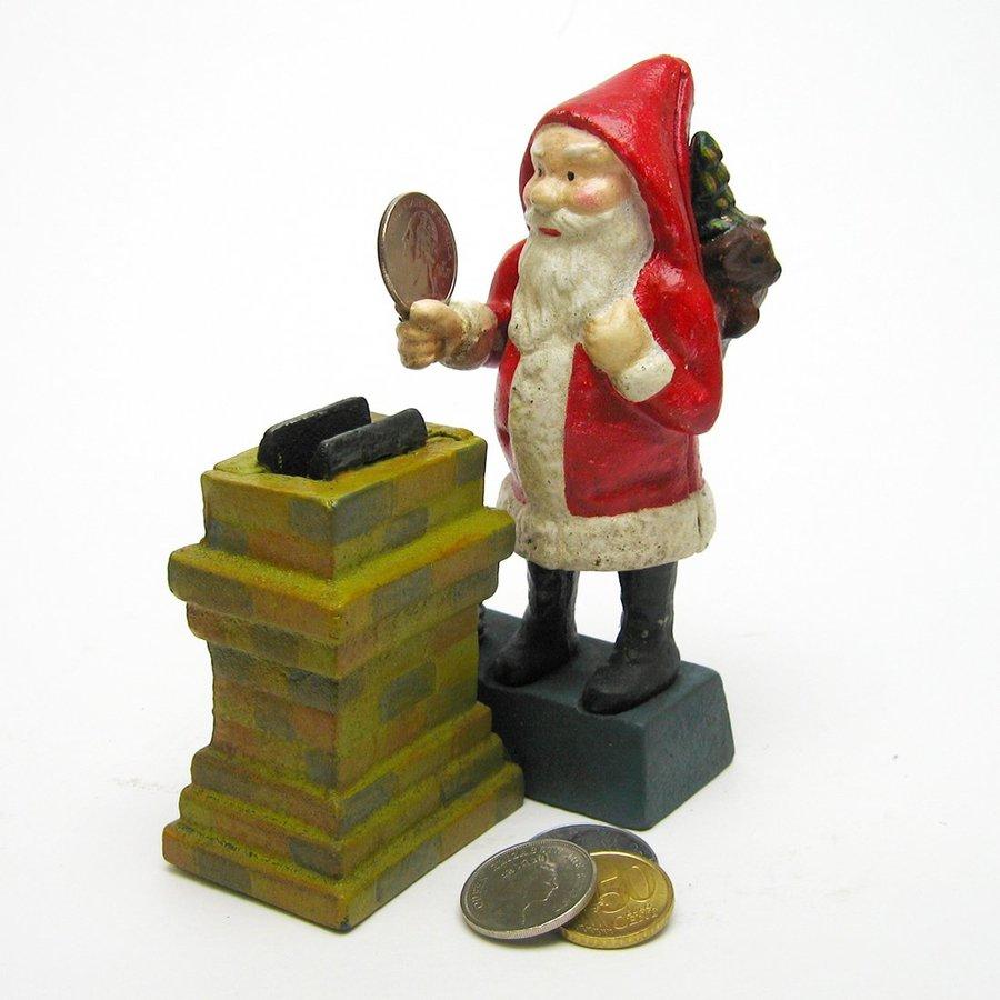 Design Toscano Santa at the Chimney Mechanical Coin Bank