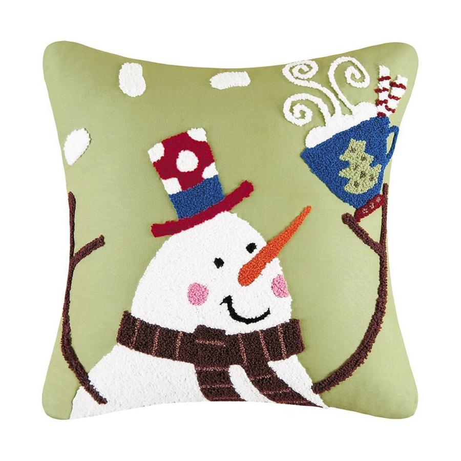 C&F Enterprises Toasty Wishes Snowman Pillow