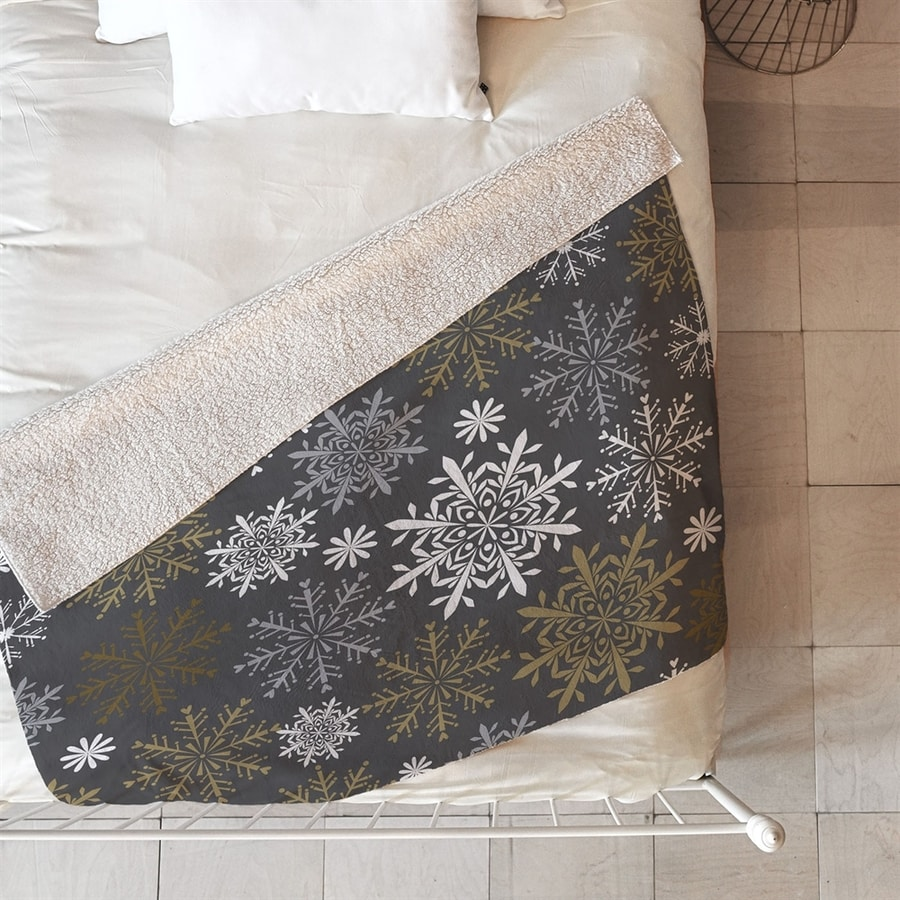 Deny Designs Snowflake Blanket