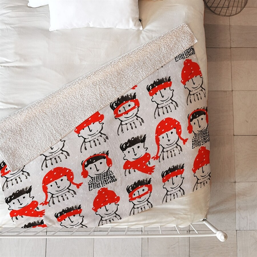 Deny Designs Holiday Characters Blanket