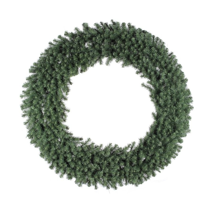 Vickerman 60-in  Green Douglas Fir Artificial Christmas Wreath Lights