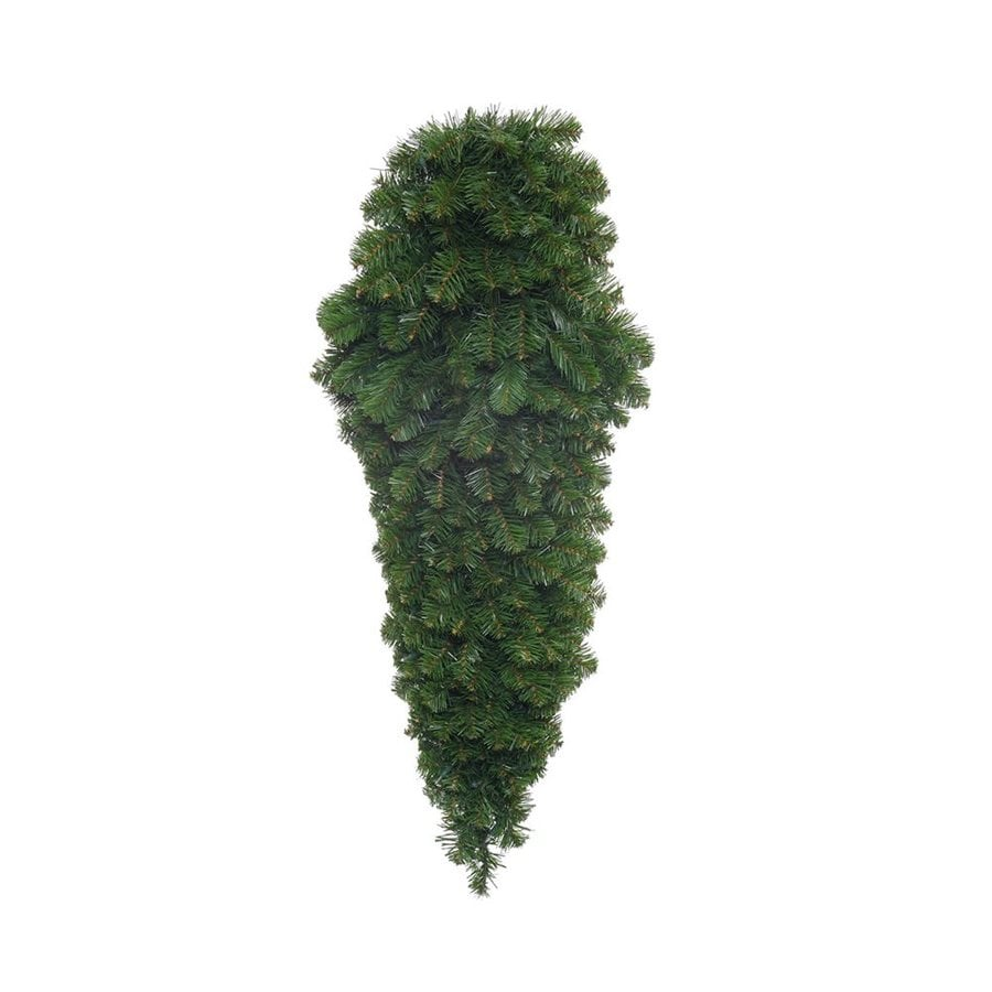 Vickerman 4-ft Slim Upside-down Artificial Christmas Tree