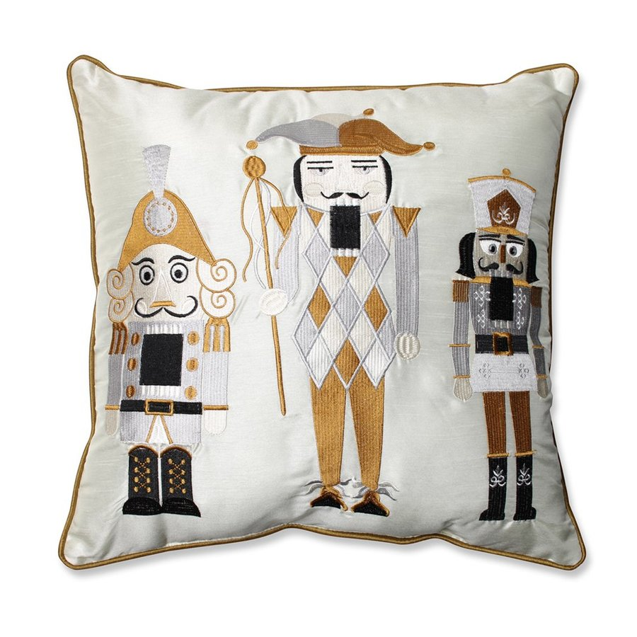 Pillow Perfect Nutcracker Throw Pillow