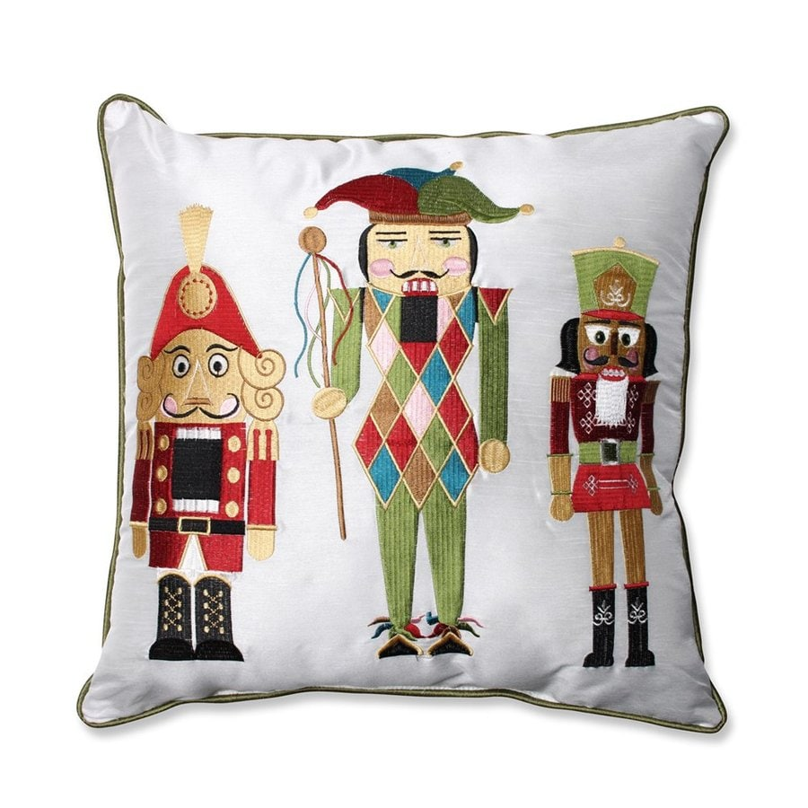 Pillow Perfect Nutcracker Pillow Lights