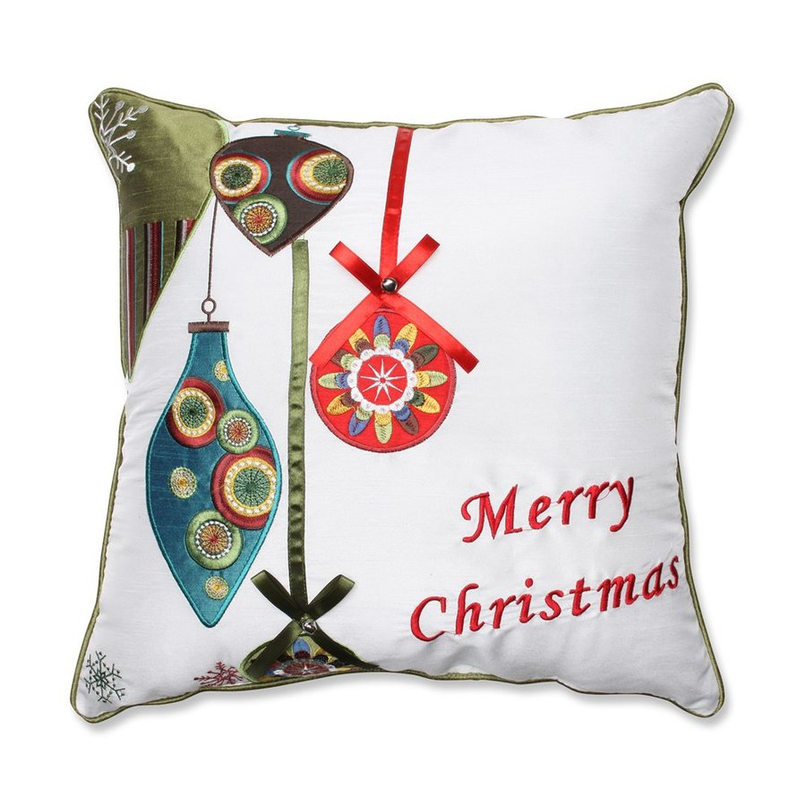Pillow Perfect Ornaments Pillow
