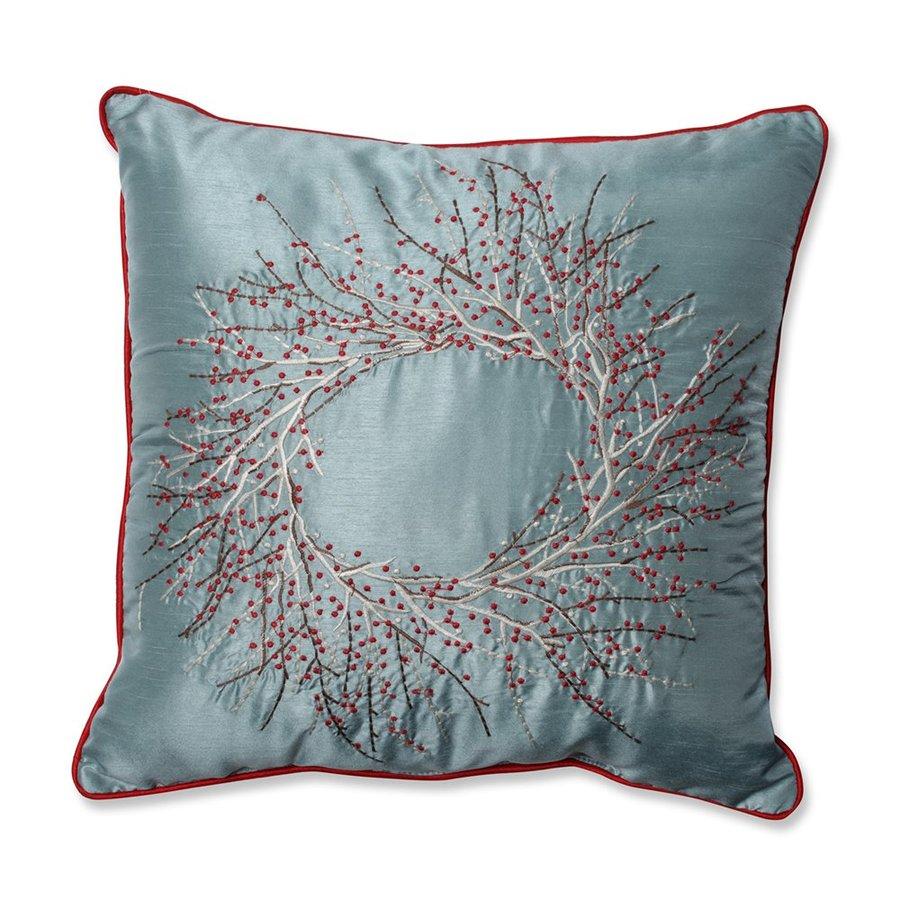 Pillow Perfect Berry Wreath Pillow