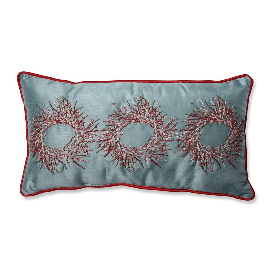 Pillow Perfect Berry Wreath Pillow