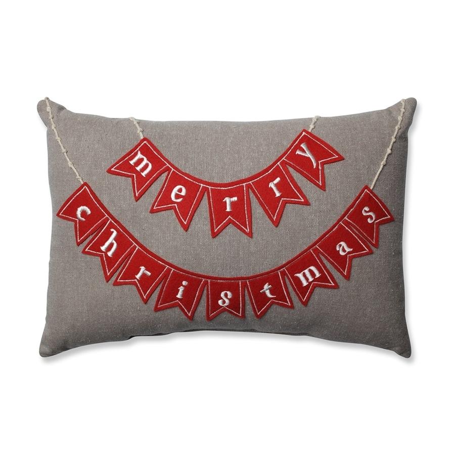 Pillow Perfect Merry Christmas Pillow Lights
