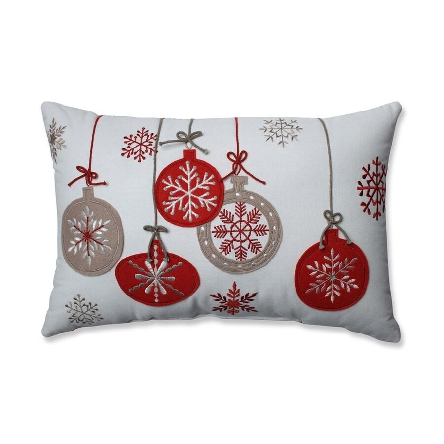 Pillow Perfect Rectangular Ornaments Pillow