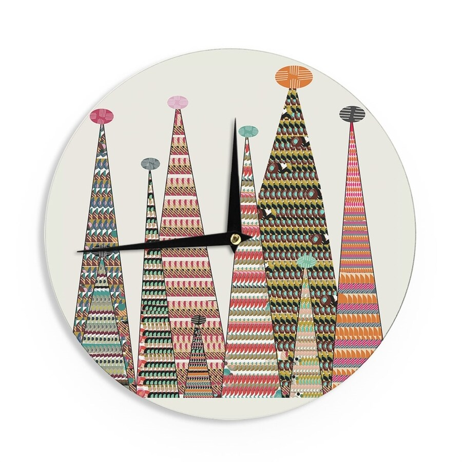 Kess InHouse Tree Clock