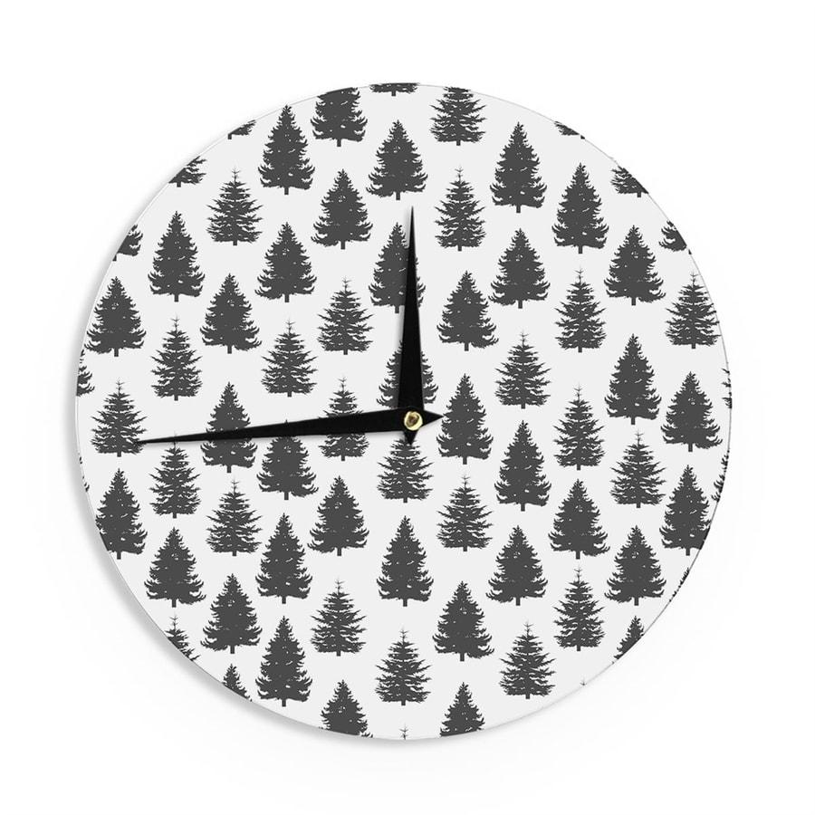 Kess InHouse Tree Clock