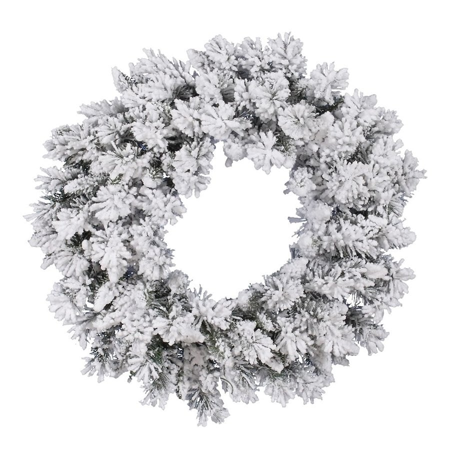 Vickerman 30-in  Artificial Christmas Wreath Lights