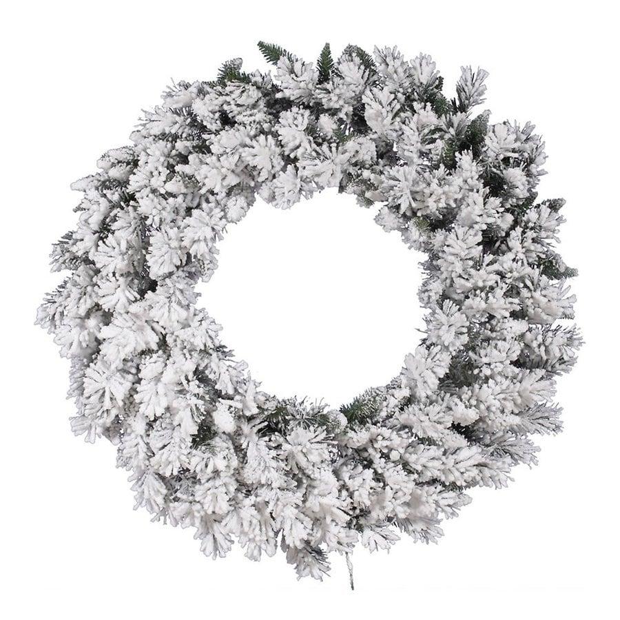 Vickerman 42-in  Artificial Christmas Wreath Lights