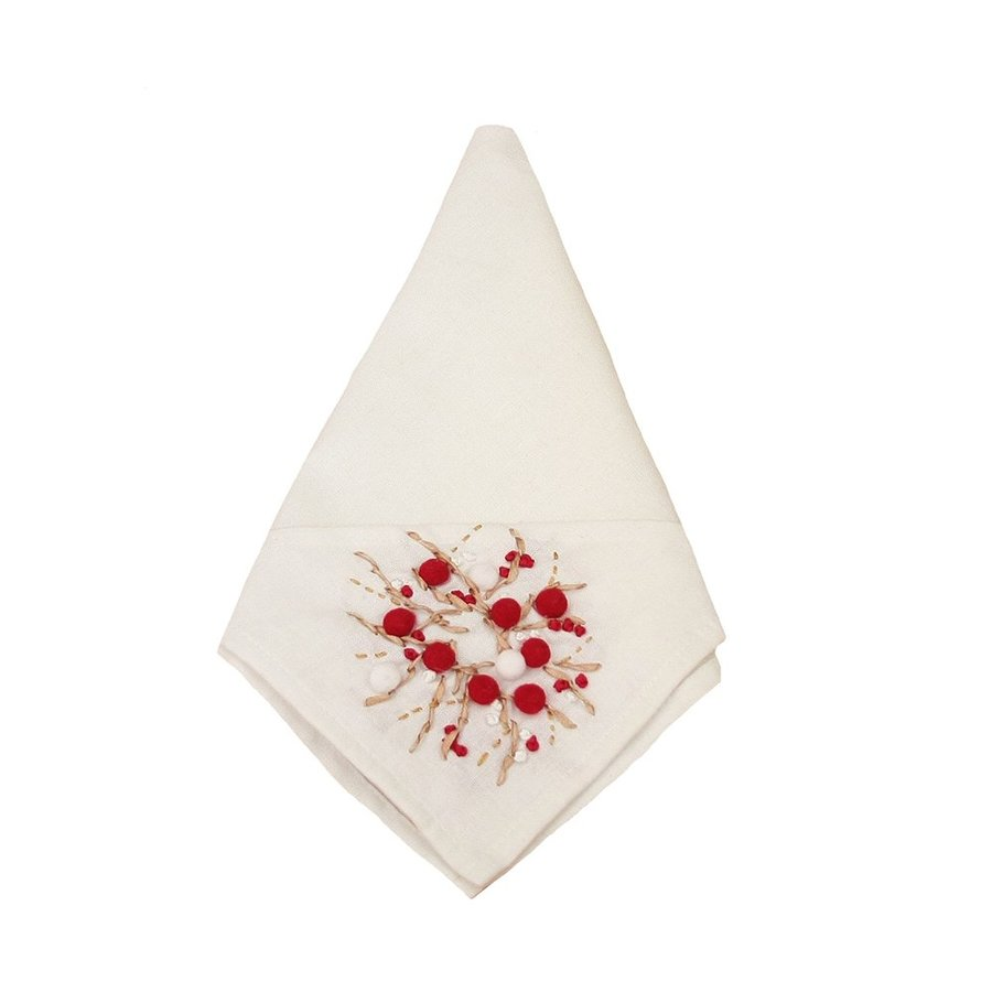XIA Home Fashions Berry Napkins
