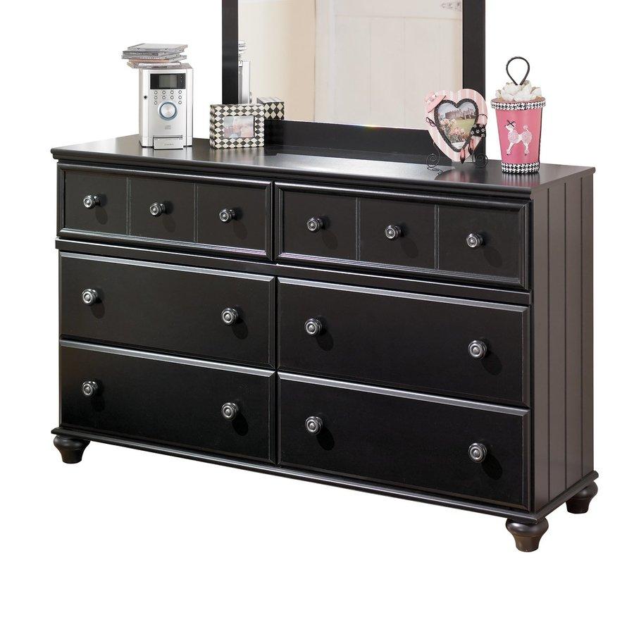 Signature Design by Ashley Jaidyn Black 6-Drawer Double Dresser