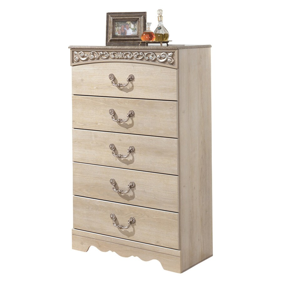 Signature Design by Ashley Catalina Light Opulent 5-Drawer Chest
