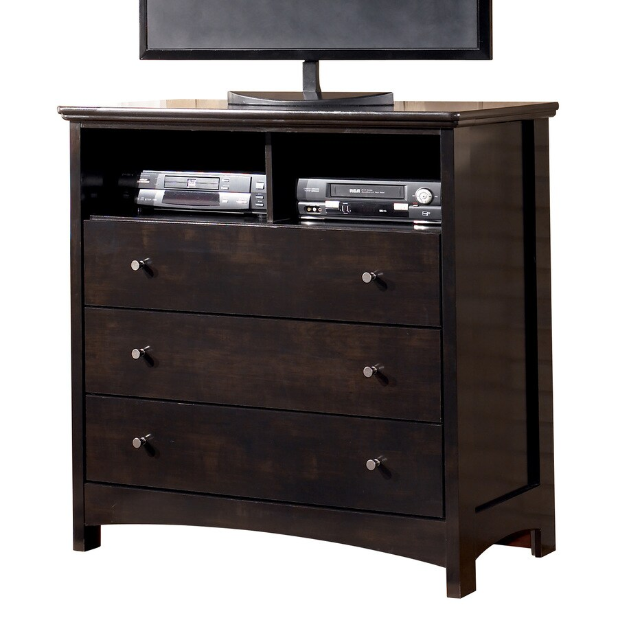 Signature Design by Ashley Harmony Dark Brown 3-Drawer  Chest