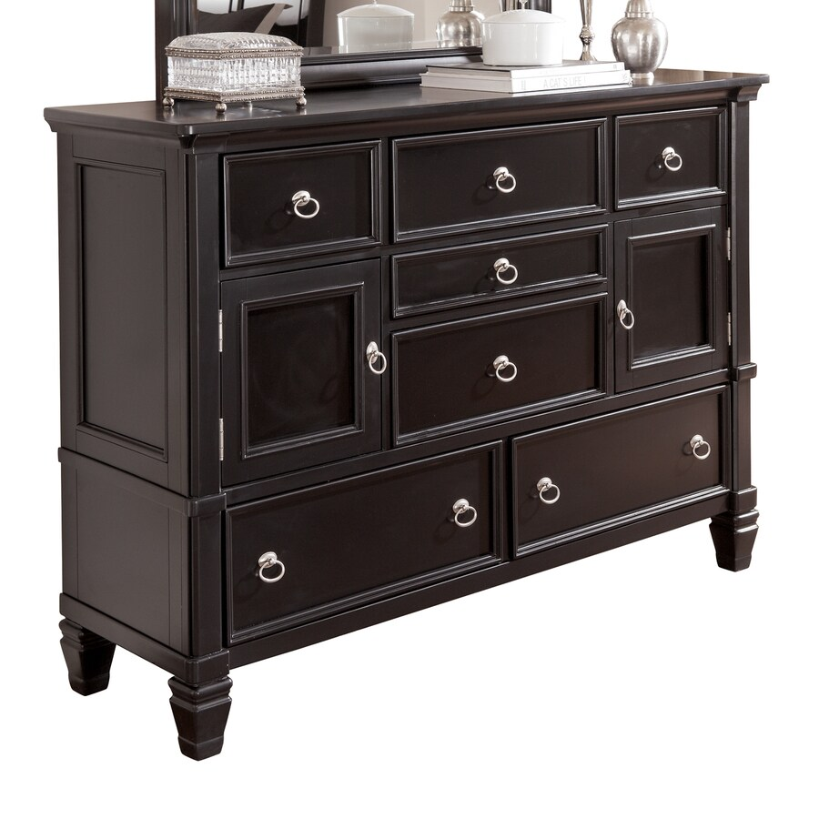 Signature Design by Ashley Greensburg Black 7-Drawer Combo Dresser