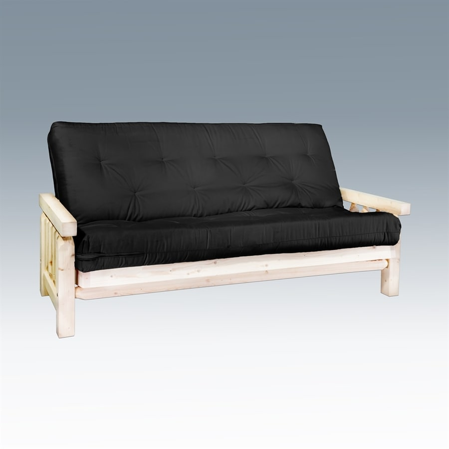 Montana Woodworks Homestead Black Futon