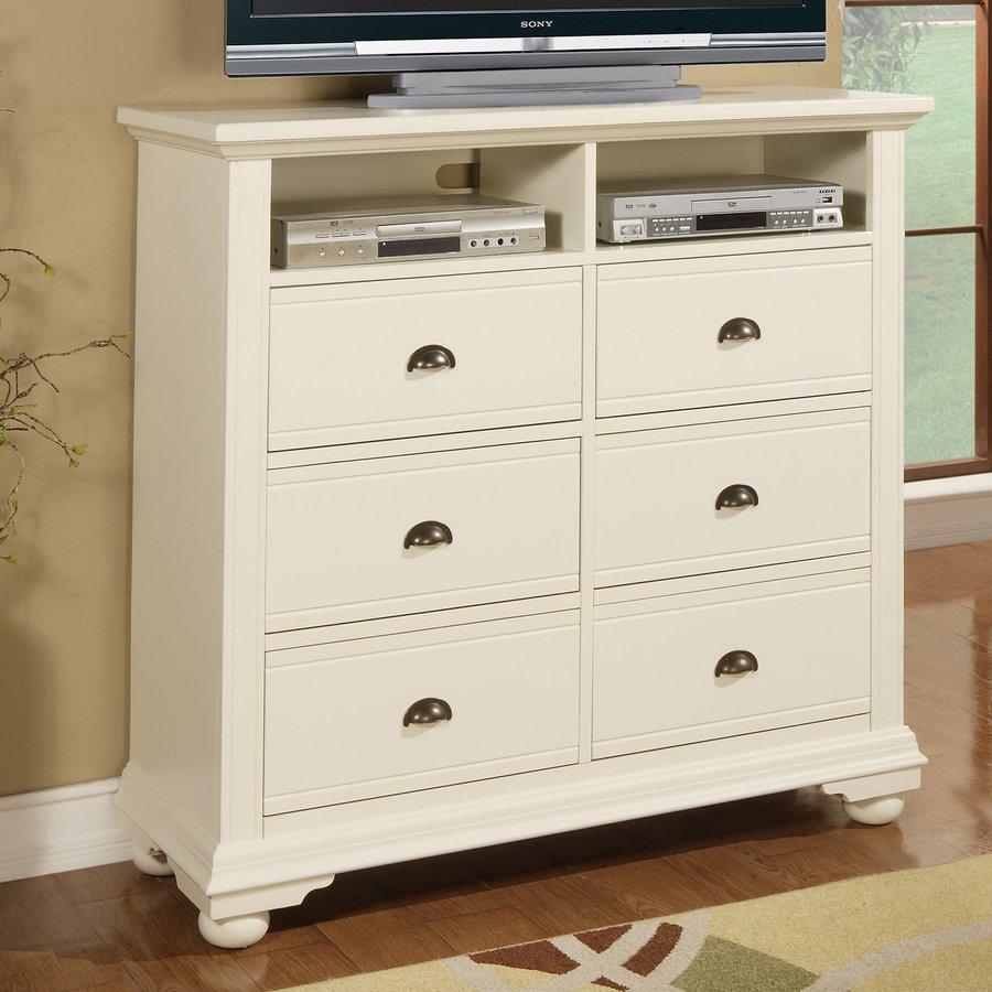 Picket House Furnishings Belmor White Poplar 6-Drawer  Chest