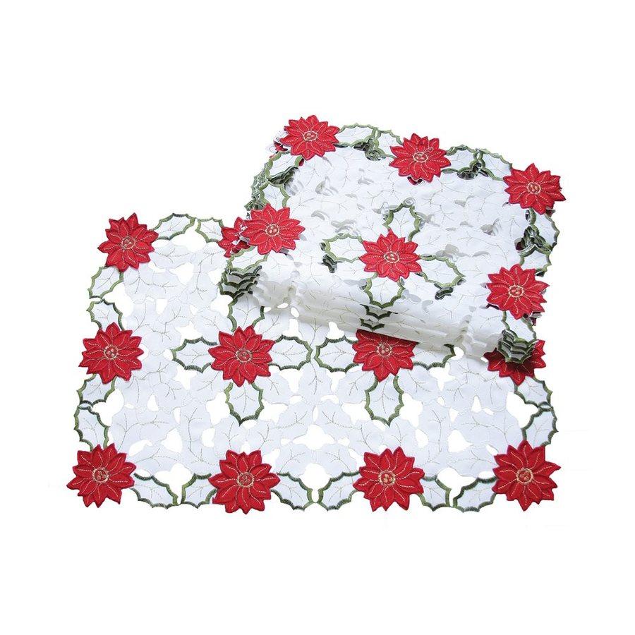 XIA Home Fashions Poinsettia Placemat