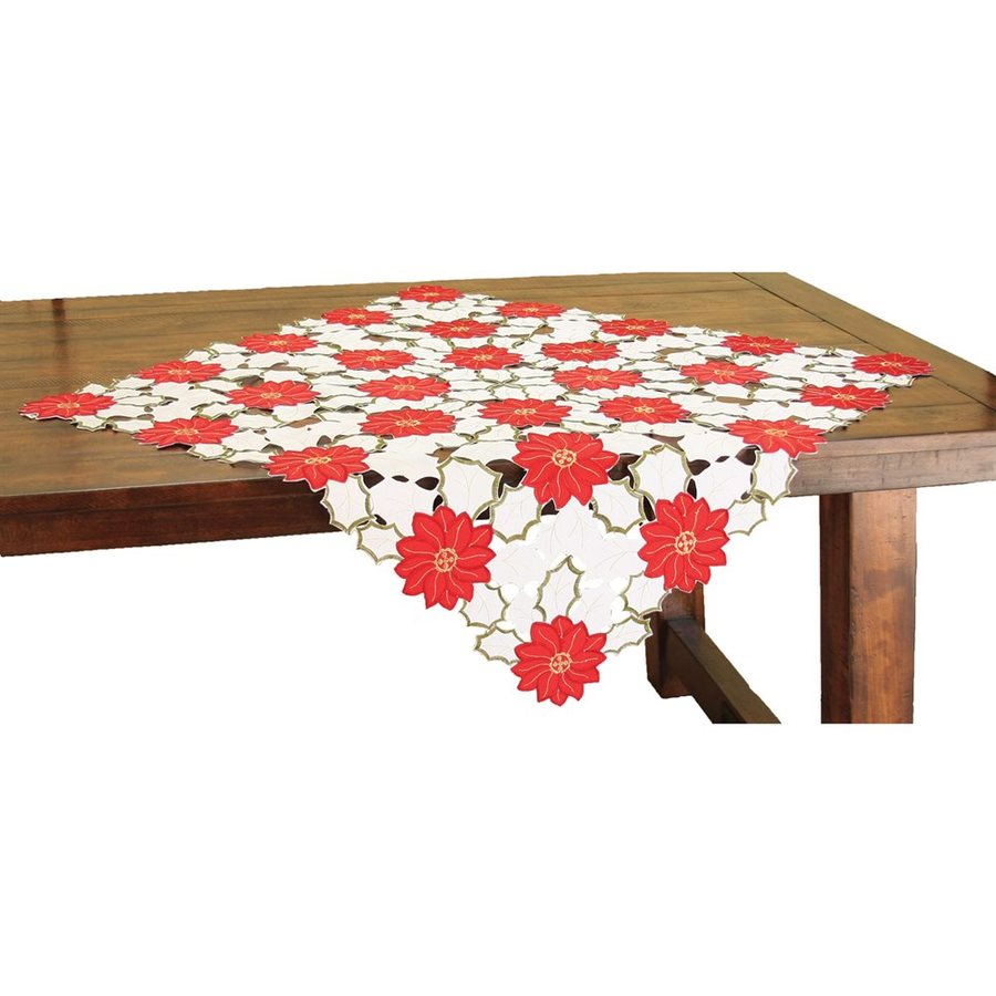 XIA Home Fashions Poinsettia Tabletop Decoration