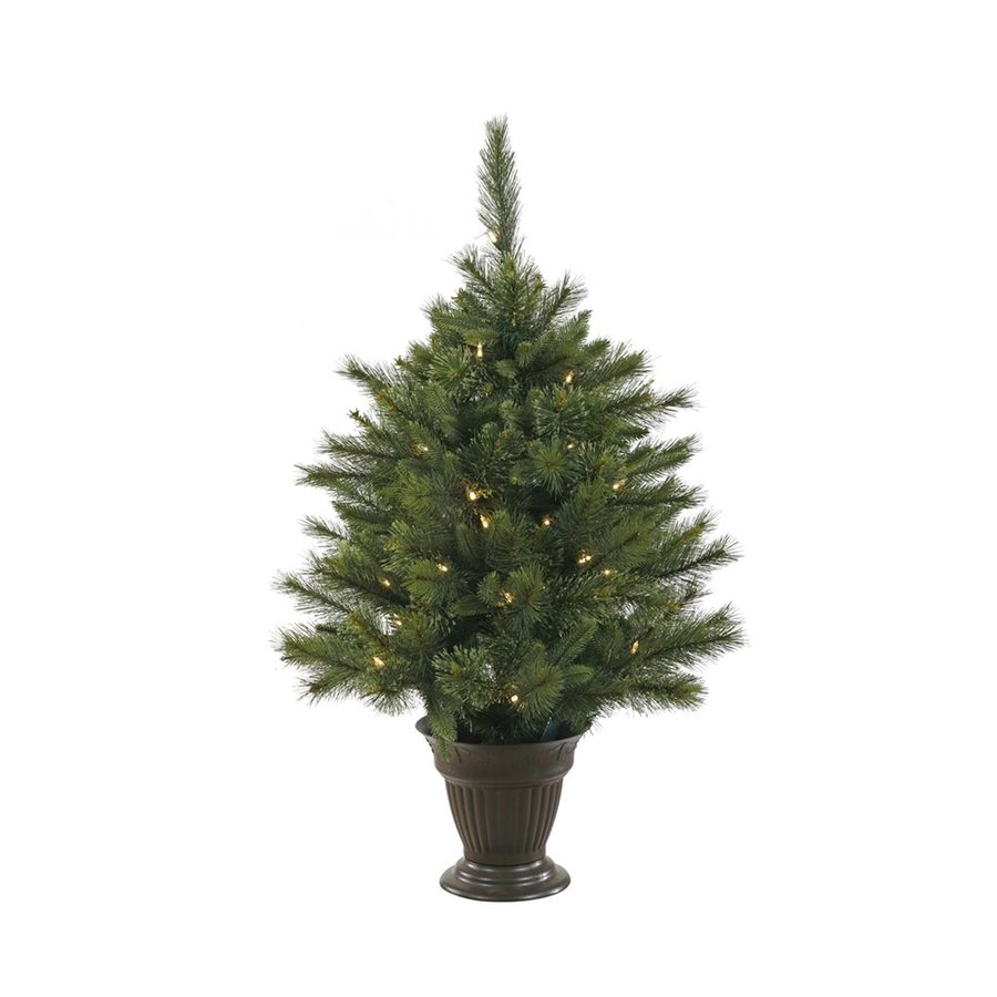 Vickerman 3.5-ft Pre-lit Artificial Christmas Tree with 50 Warm White LED Lights