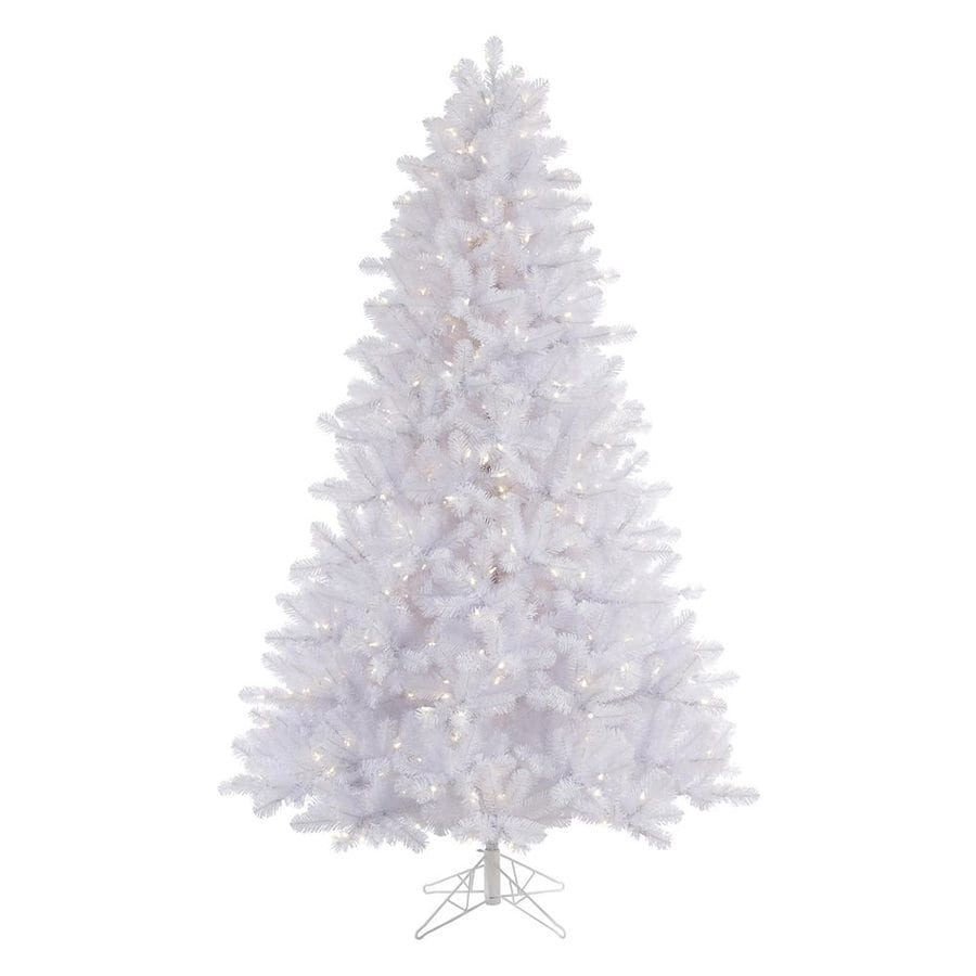 Vickerman 7 5 Ft Pre Lit Crystal Artificial Christmas Tree With 650 Constant Warm White